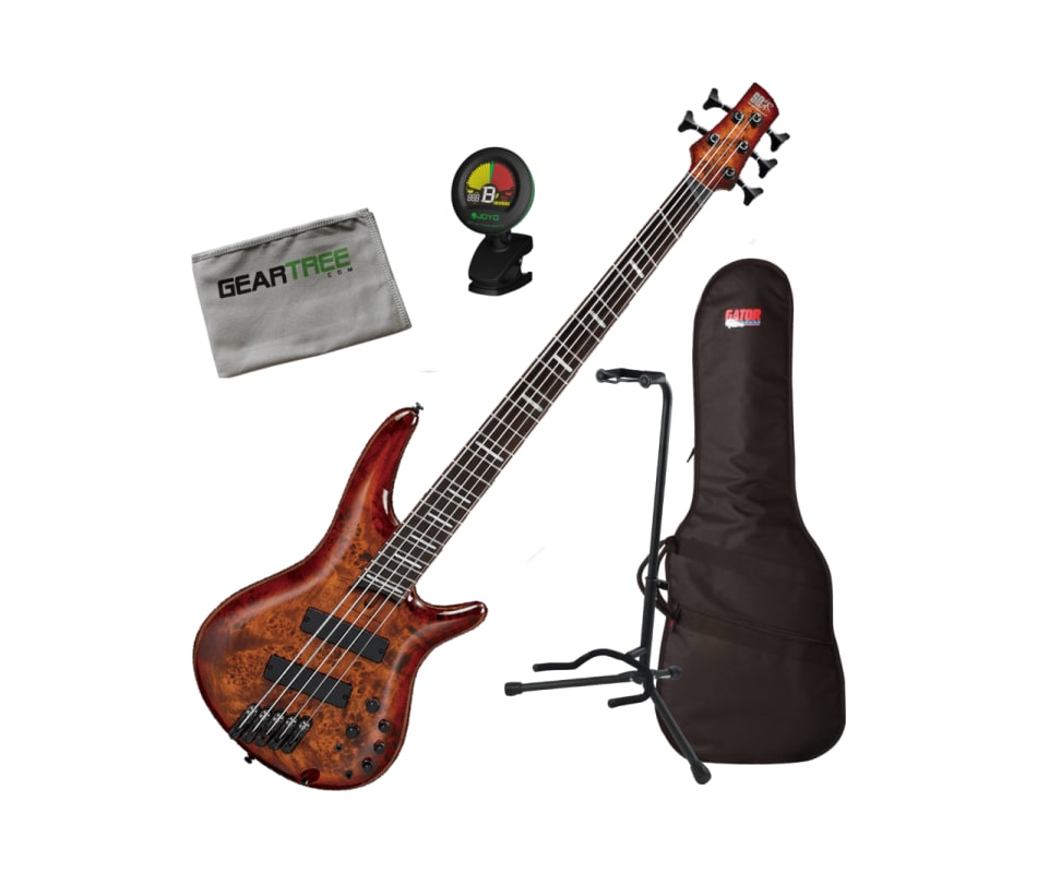 Ibanez SRMS805 BTT SR Bass Workshop Multi-Scale 5-