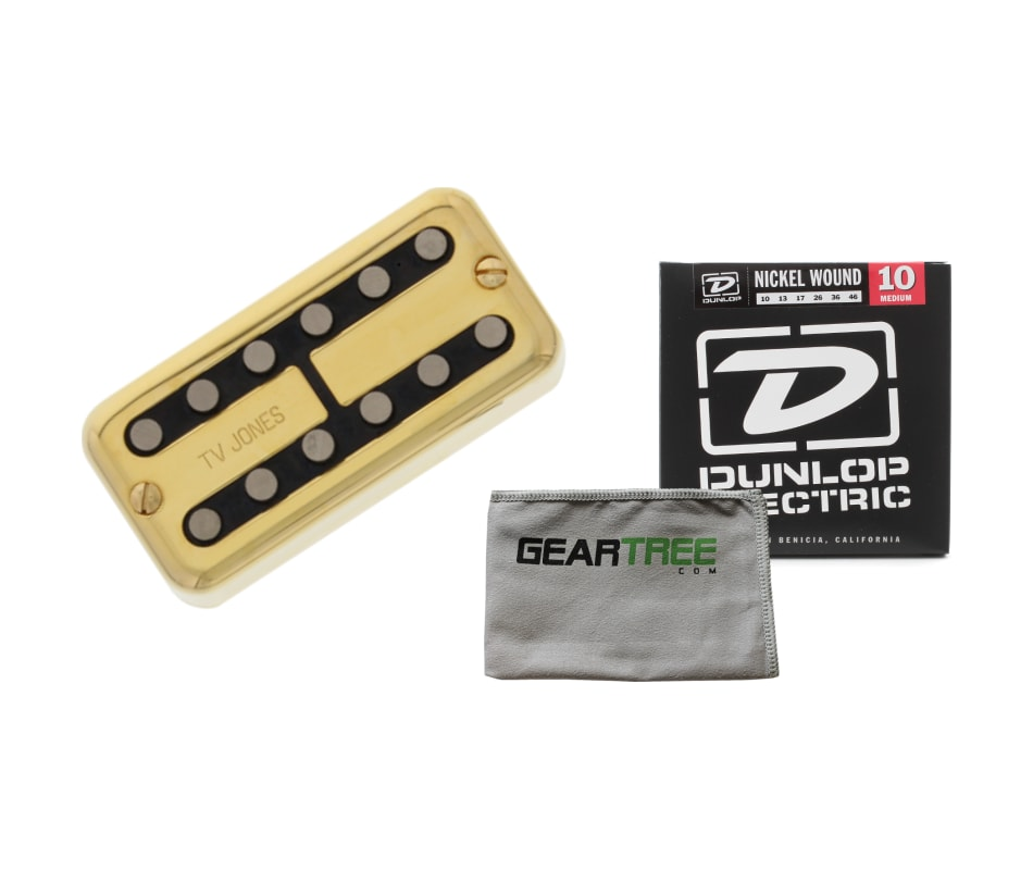 TV Jones Magnatron Neck Pickup Gold Magna'tron Uni