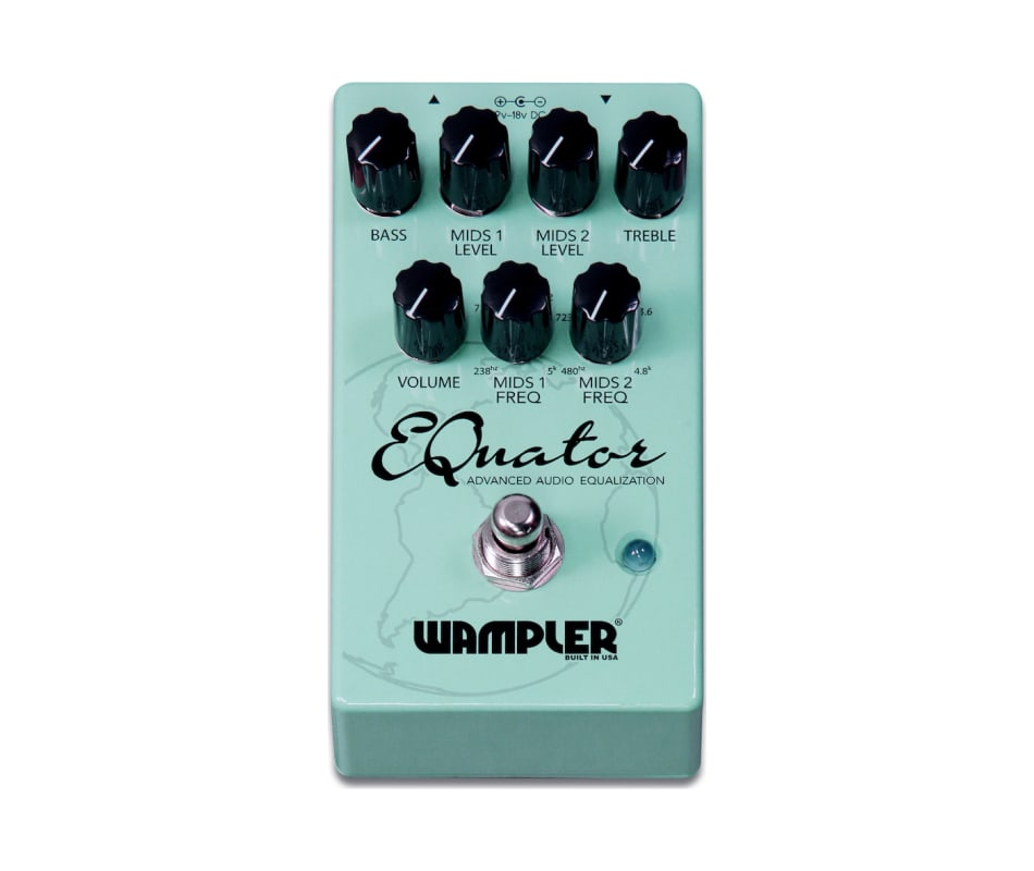 Wampler Equator EQ Pedal Effects Pedal