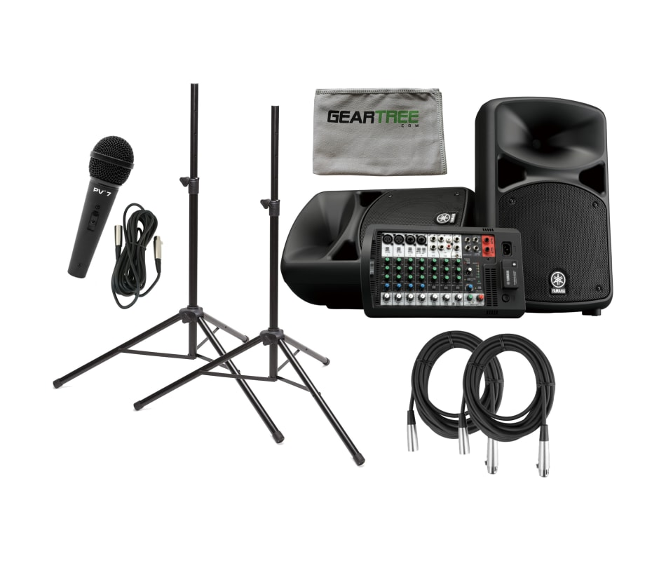Stagepas 600 BT Bluetooth PA System Bundle