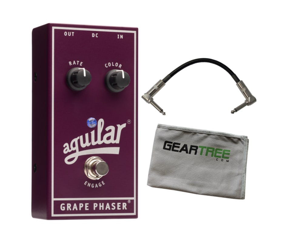 Aguilar Grape Phaser Bass Phaser Effect Pedal Bund
