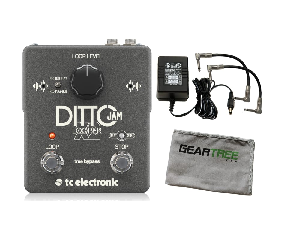 TC Electronics Ditto Jam X2 Looper Effects Pedal B