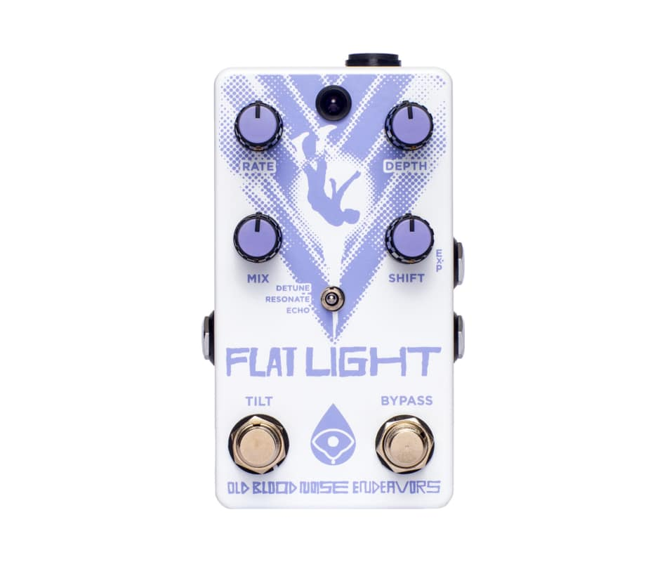 Flat Light Pitch Shifting Flanger Pedal