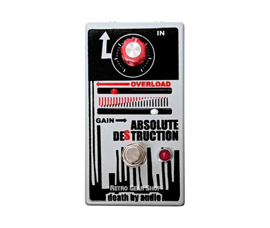 Absolute Destruction Fuzz Pedal