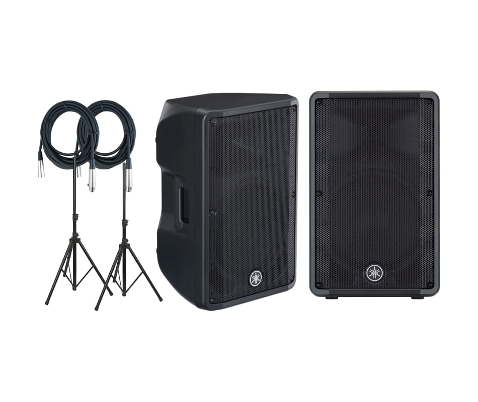 Yamaha DBR12 Powered Loudspeaker PAIR with Speaker