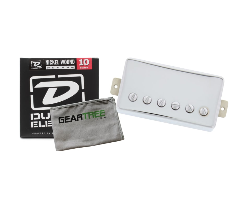TV Jones Starwood Humbucker Chrome Neck Pickup Bun