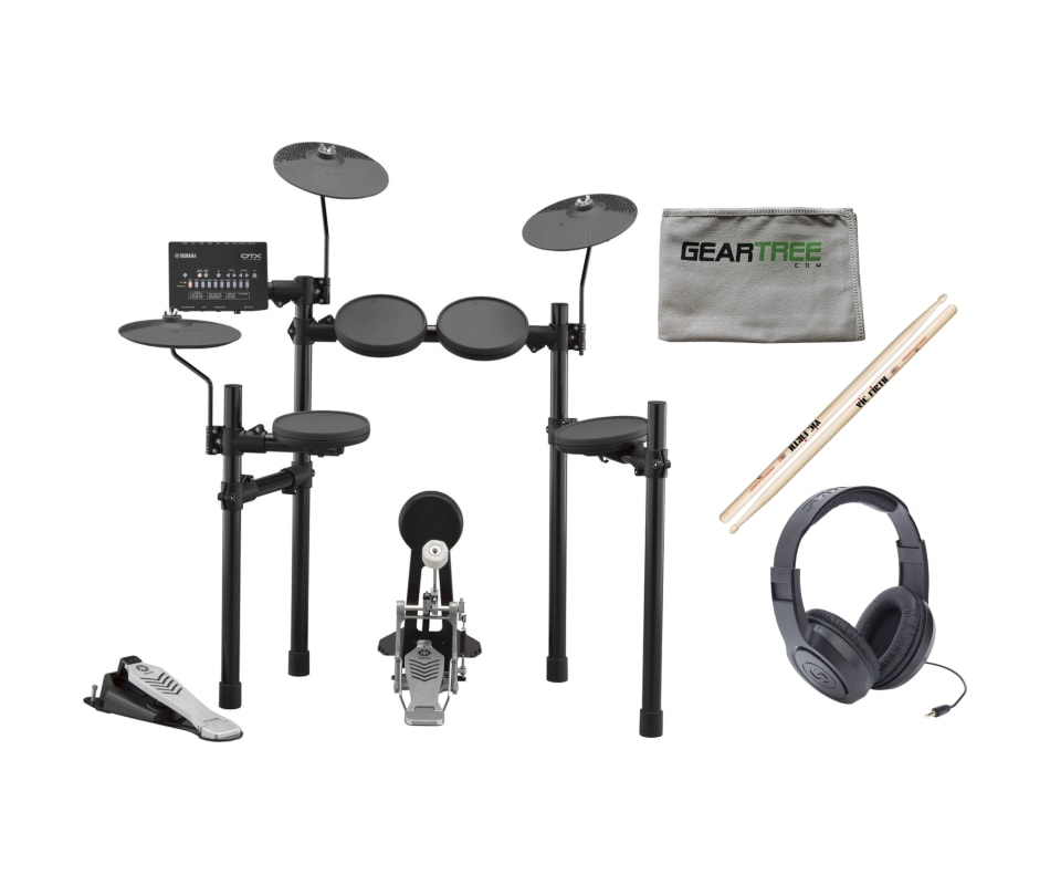 Yamaha DTX432K Electronic Drum Set w/ Headphones,