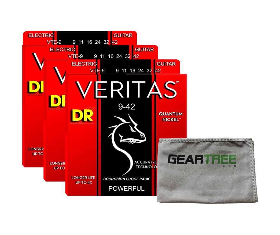 VTE-9 Veritas Electric Guitar String Bundle