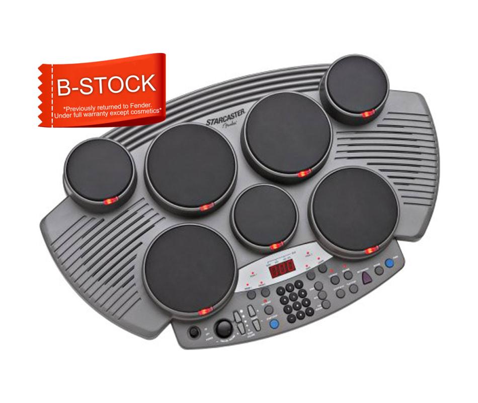 B Stock Fender Tt 1 Starcaster Electronic Table Top Drum Kit