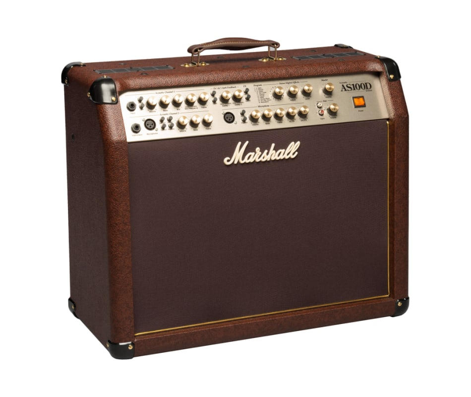 Marshall AS100D 100W 4-Channel 2x8 Acoustic Guitar