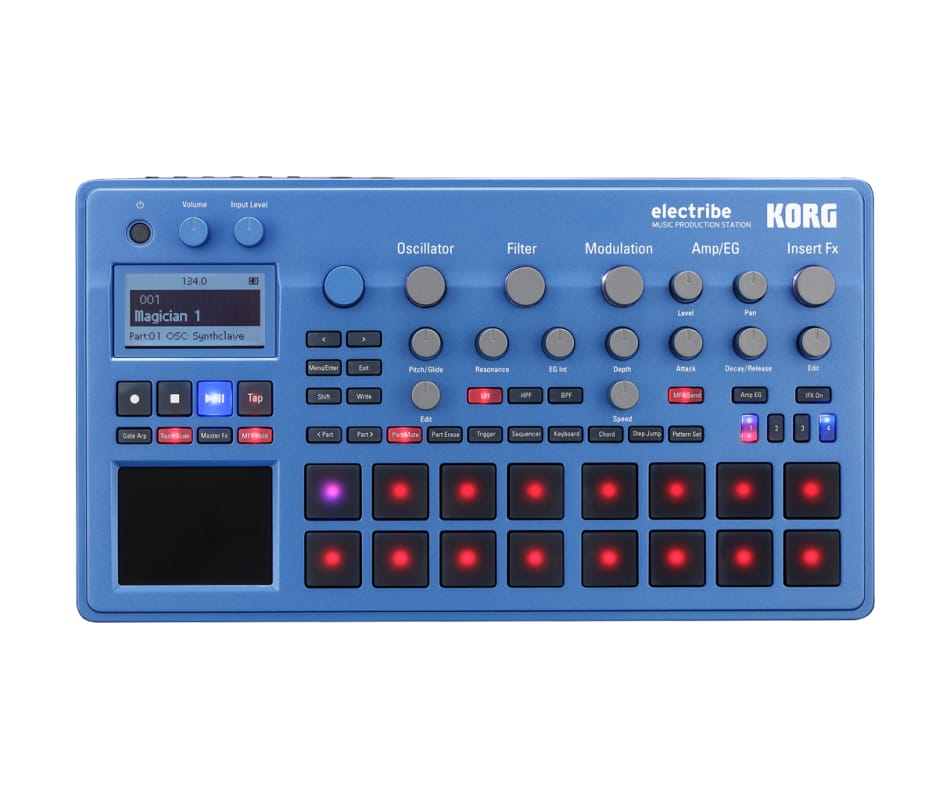 Electribe Synth in EMX Blue with V2.0 Software