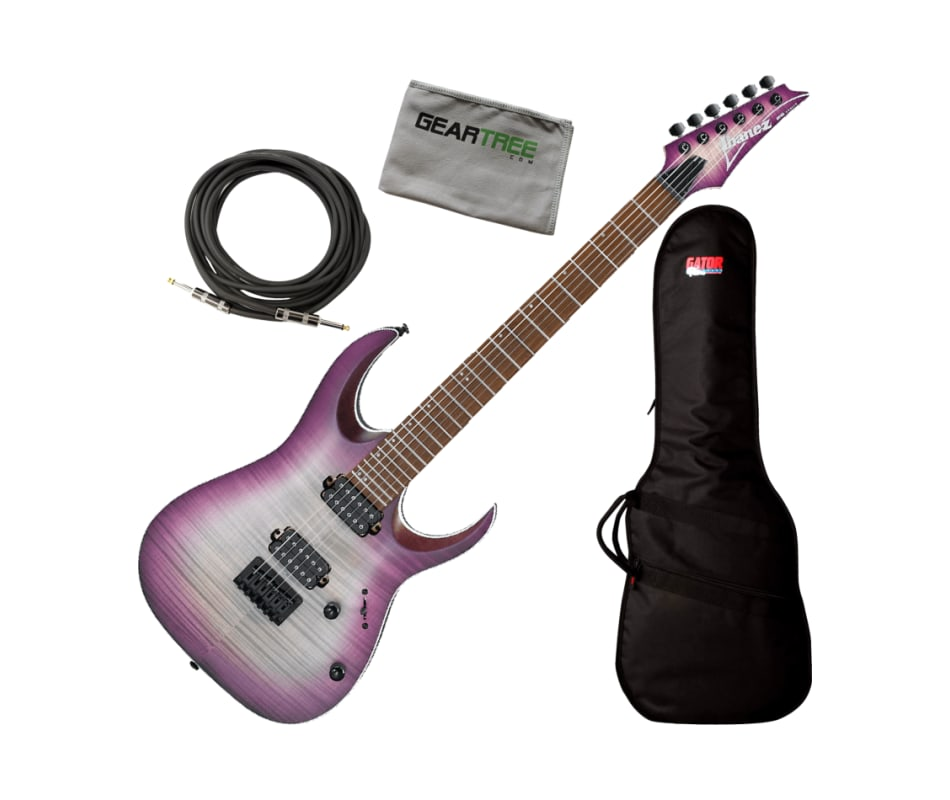 Ibanez RGA42FM TLF Transparent Purple Burst RGA St
