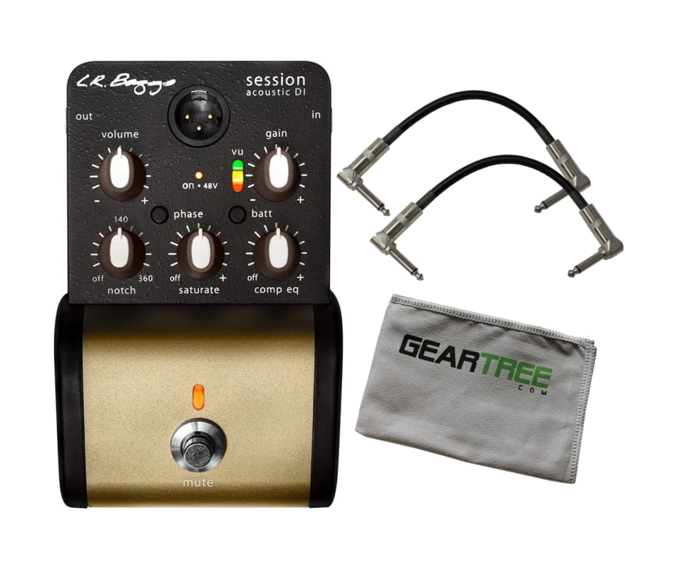 LR Baggs Session DI Acoustic Guitar Preamp Pedal B