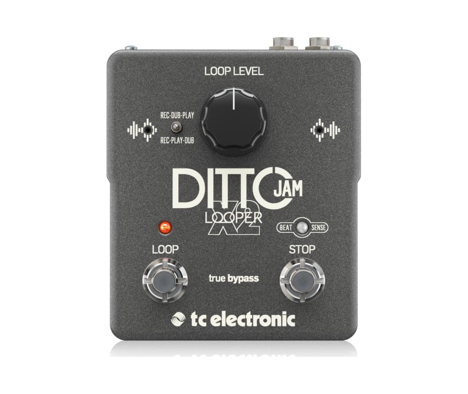TC Electronics Ditto Jam X2 Looper Effects Pedal