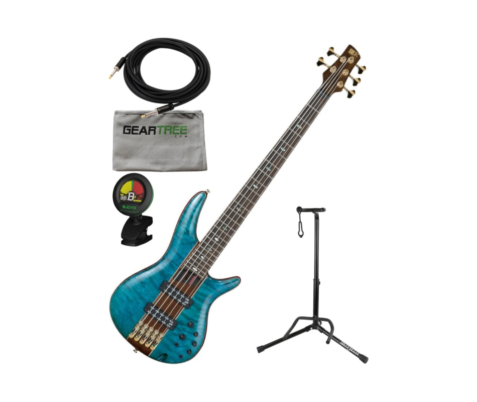 Ibanez SR2405WBTL SR Premium 5-String Bass (Brown
