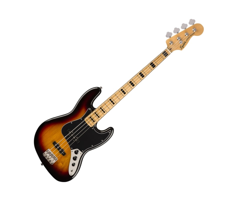 Squier 0374540500 Classic Vibe 70s Jazz Bass, Mapl
