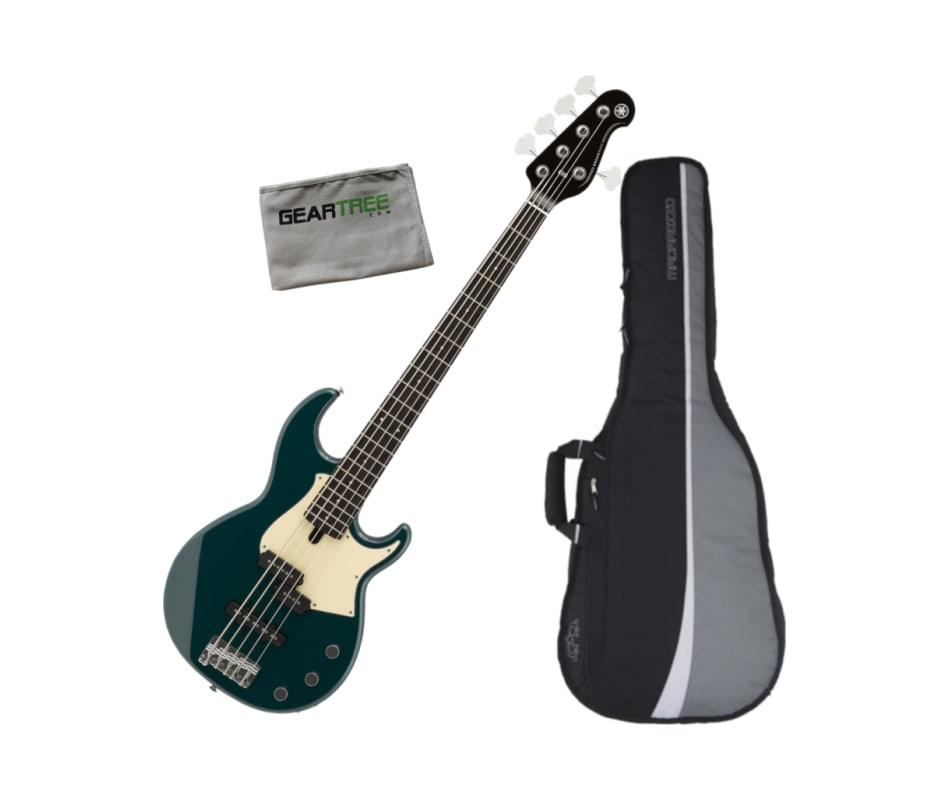 BB435 TB 5-String Electric Bass Guitar Bundle
