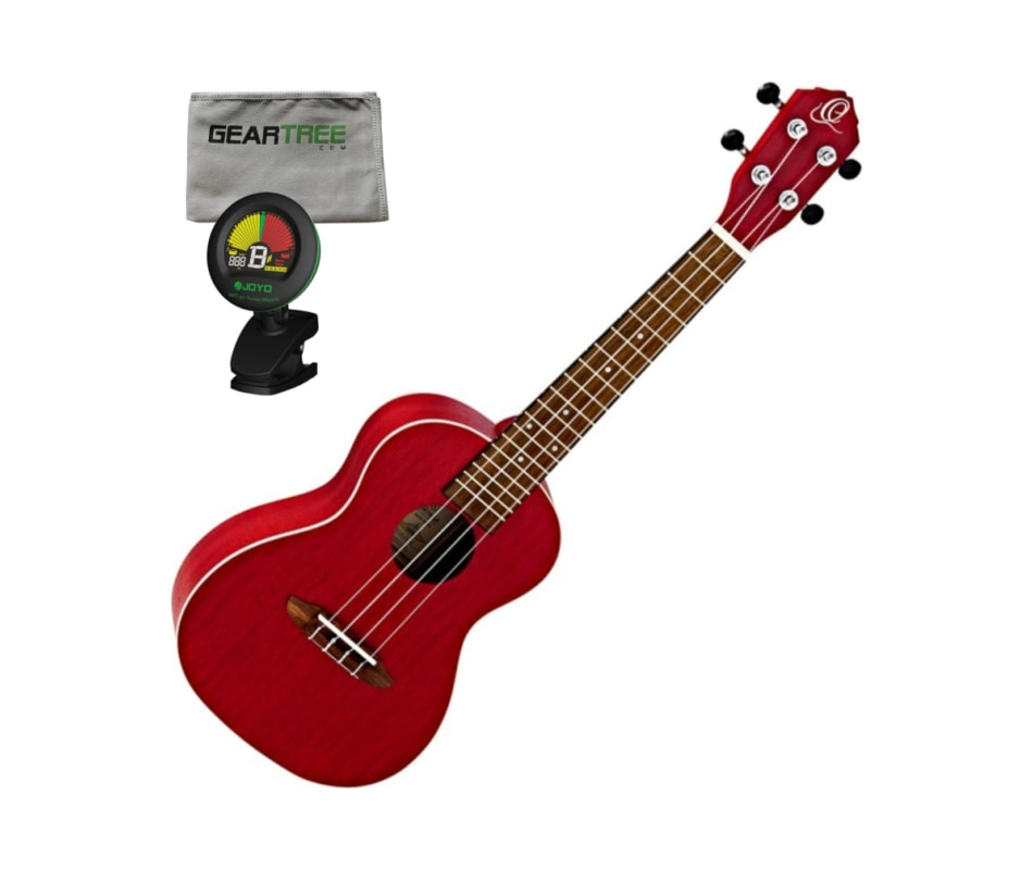 Ortega Guitars RUFIRE Earth Series Concert Ukulele