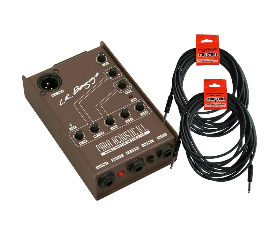 LR Baggs Para DI Parametric EQ Direct Box w/ 2 cab