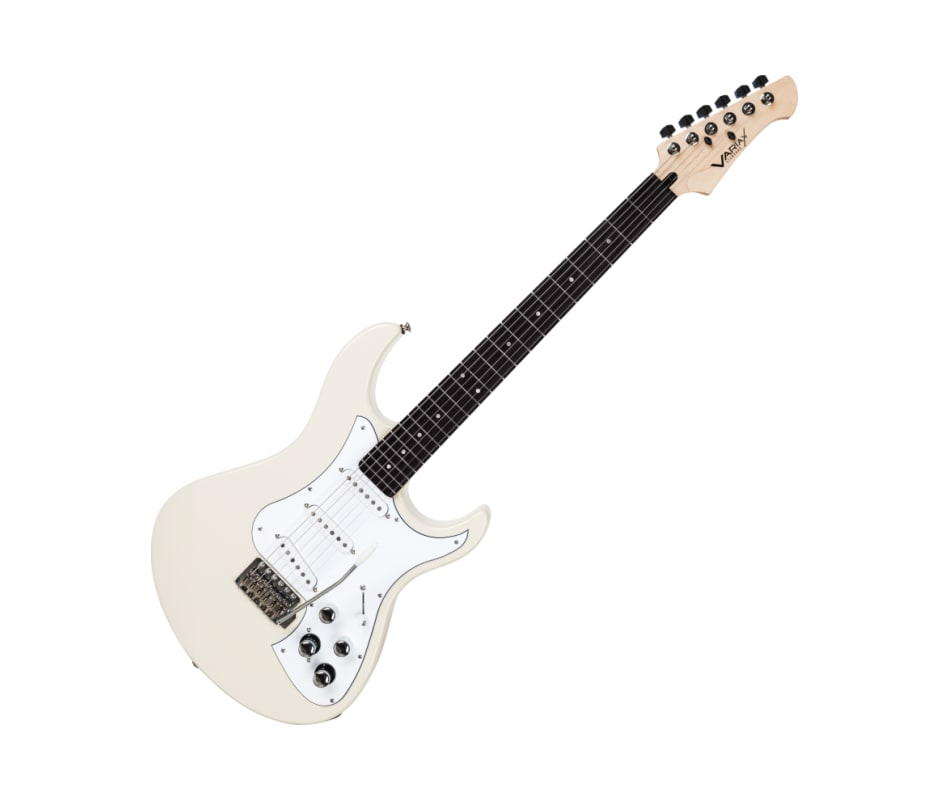 Line 6 Variax Standard White Electric Guitar w/ Eb