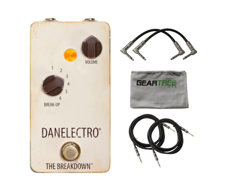 Danelectro The Breakdown Pedal w/ polish cloth and