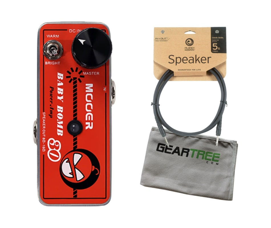 Baby Bomb 30 Digital Micro Power Amp Bundle