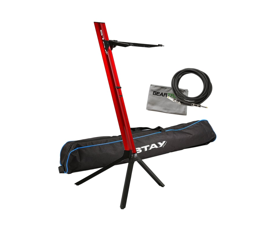 Stay STAY183 Slim 43 Single Tier Red Keyboard Stan
