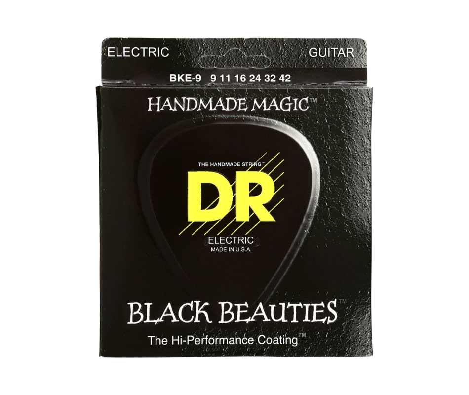BKE-9 Black Beauties Light Electric Guitar Strings