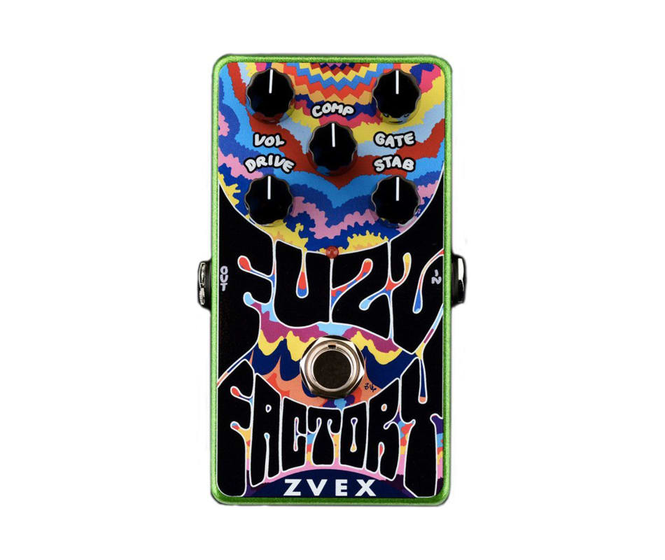 Vertical Vexter Fuzz Factory Effects Pedal