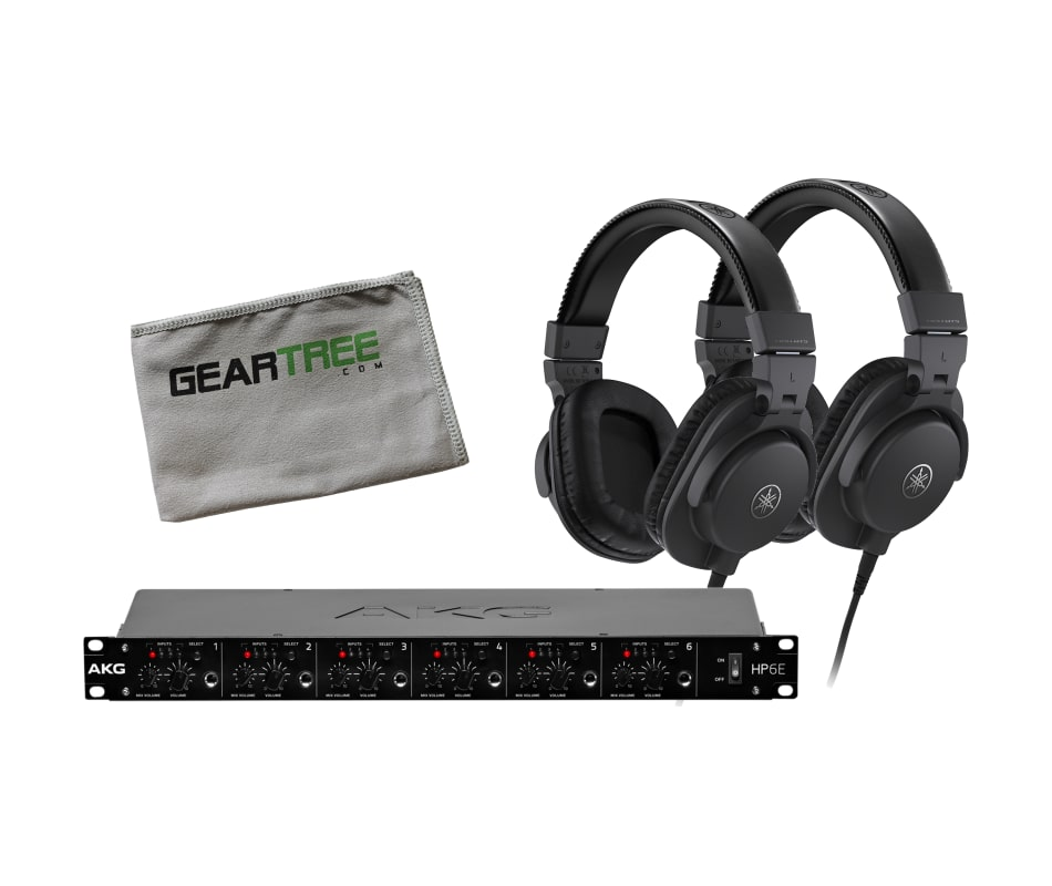 HPH-MT5 Studio Monitor Headphone Bundle