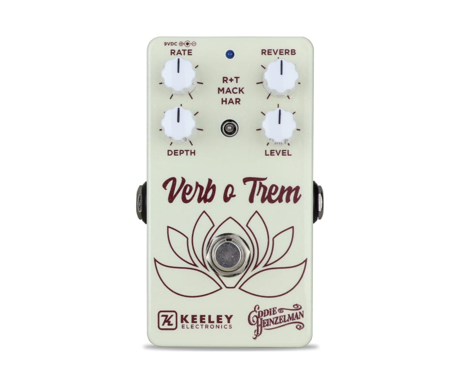 Keeley Verb O Trem Reverb and Tremolo Effects Peda