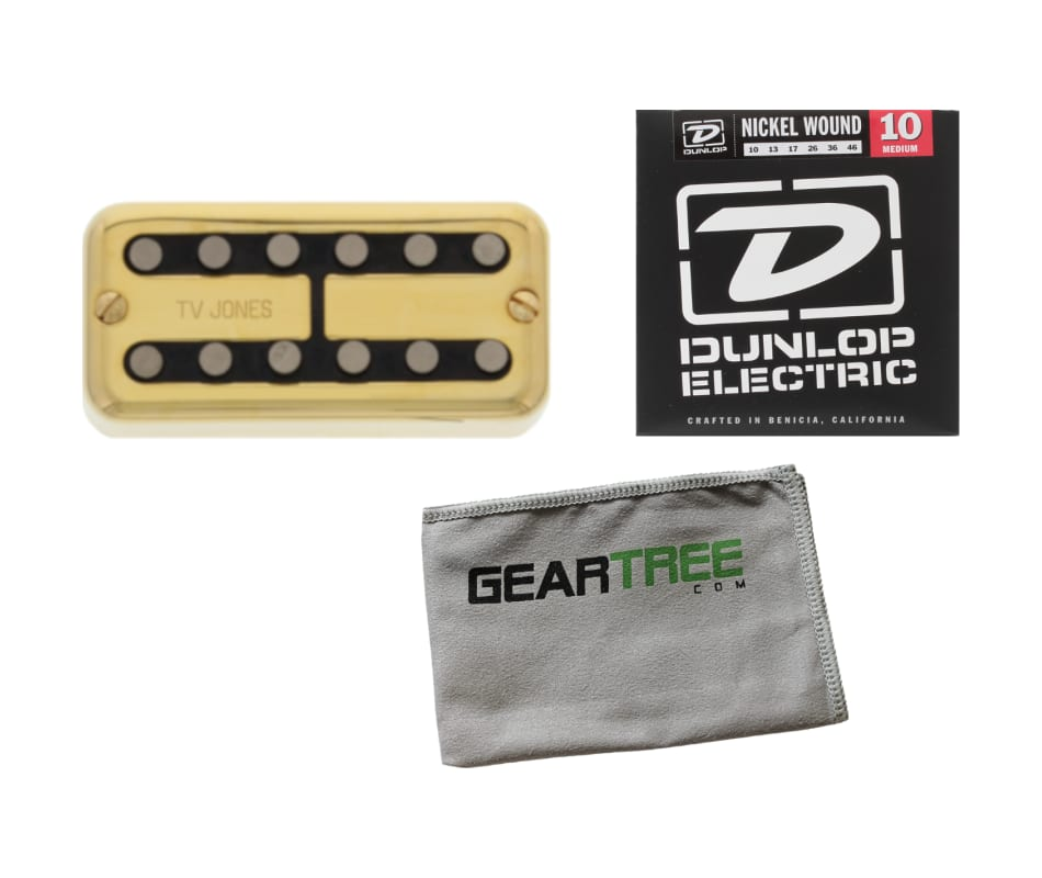 TV Jones Magnatron Bridge Pickup Gold Magna'tron U