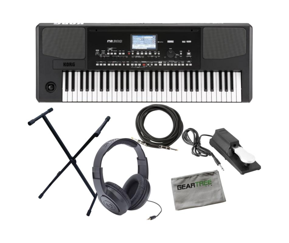 Korg PA300 61-Key Professional Arranger Keyboard w