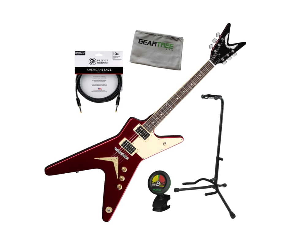 Dean ML 79 PG Metallic Red ML Standard Electric Gu