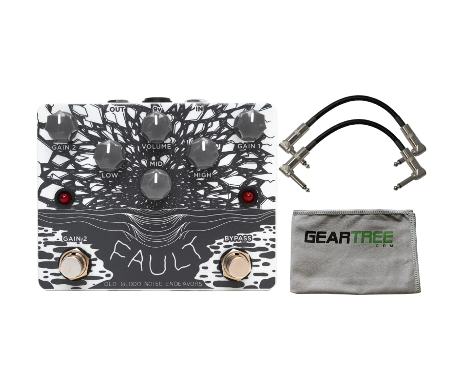 The Fault Overdrive Effect Pedal Bundle