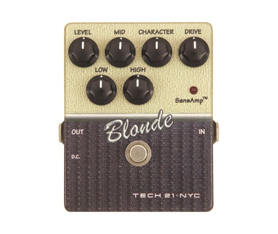 CS-BL.2 Blonde V2 Distortion Effects Pedal