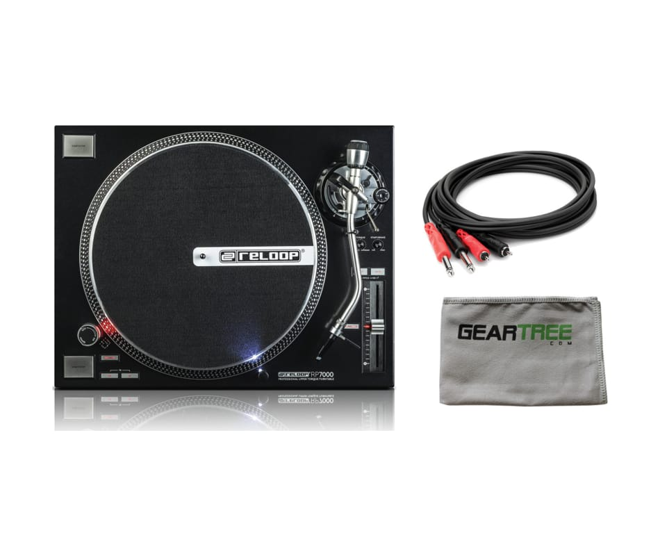 RP-7000 Direct Drive High-Torque Turntable Bundle