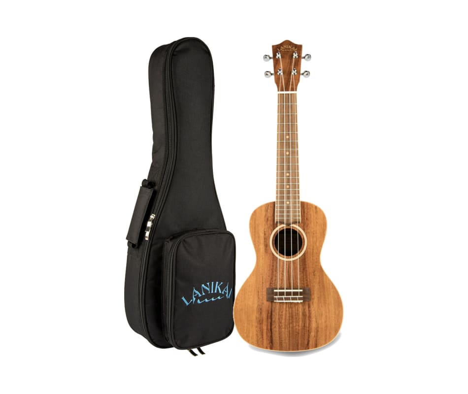 ACST Solid Acacia Top Ukulele w/Gig Bag