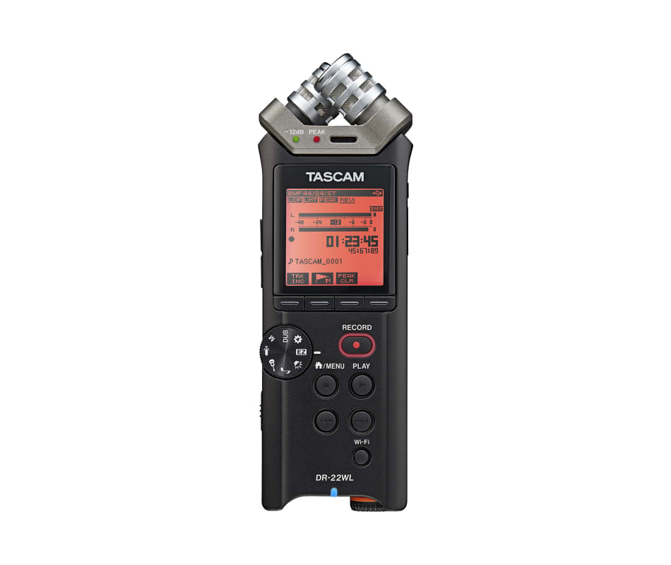 Tascam DR 22WL PORTABLE RECORDER WITH WIFI