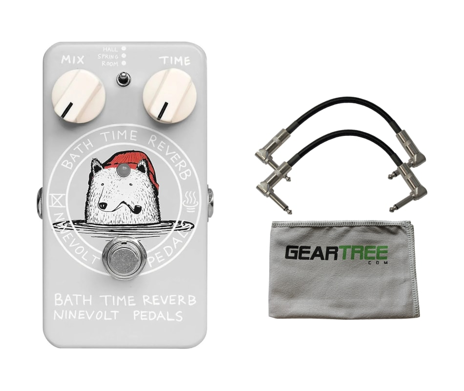 Animals Pedals Bath Time Reverb Pedal w/ 2 Patch C