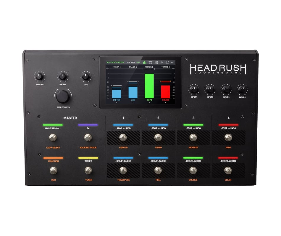 Headrush Looperboard Advanced Performance Looper w