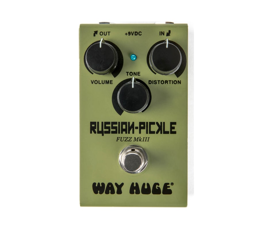 WM42 Smalls Russian Pickle Guitar Fuzz Pedal