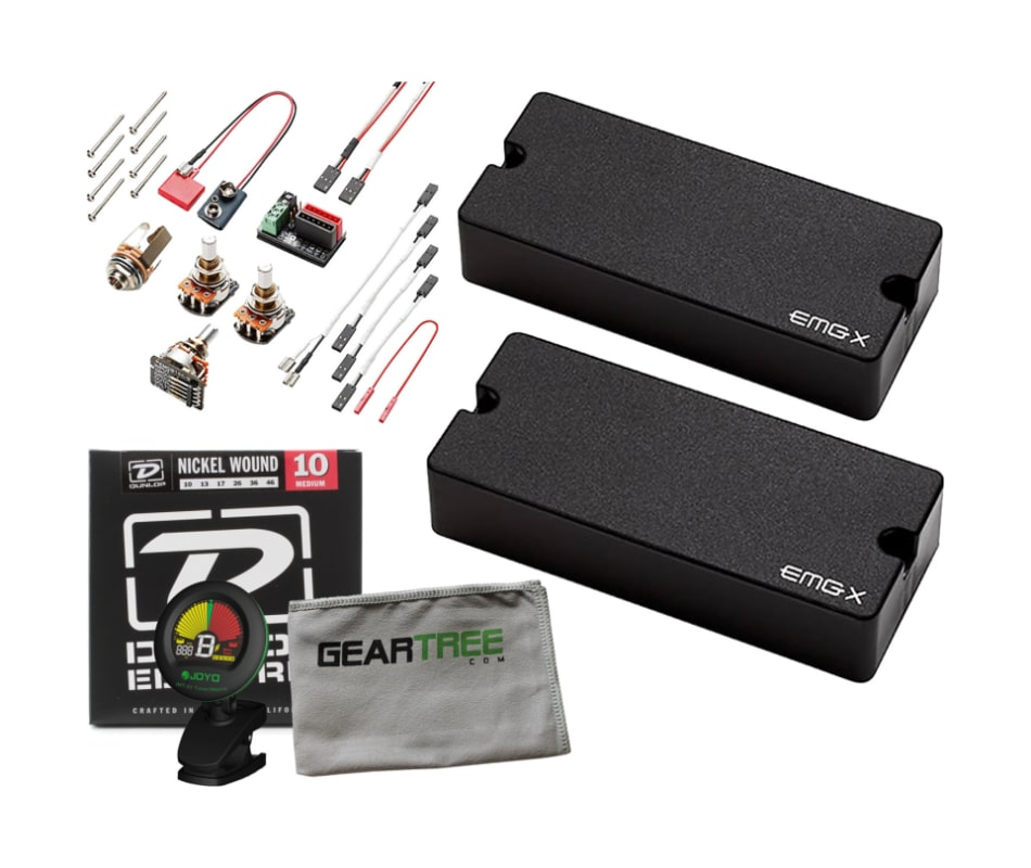 81-7X 7-String Solderless Humbucker Pickup Bundle