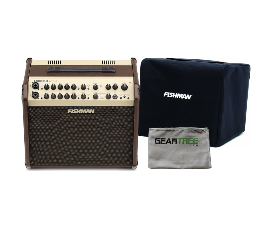 Loudbox Artist Acoustic Guitar Amplifier Bundle