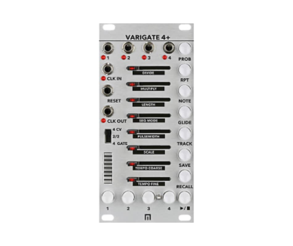 Malekko Varigate 4+ 12 HP 4 Channel 8-Step Gate Se