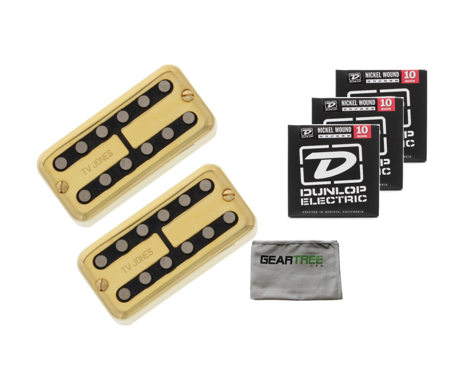 TV Jones Magnatron Pickup Set Gold Magna'tron Univ