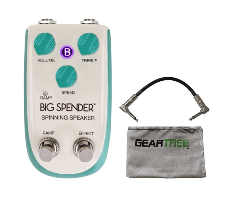 Big Spender Spinning Speaker Leslie Pedal Bundle