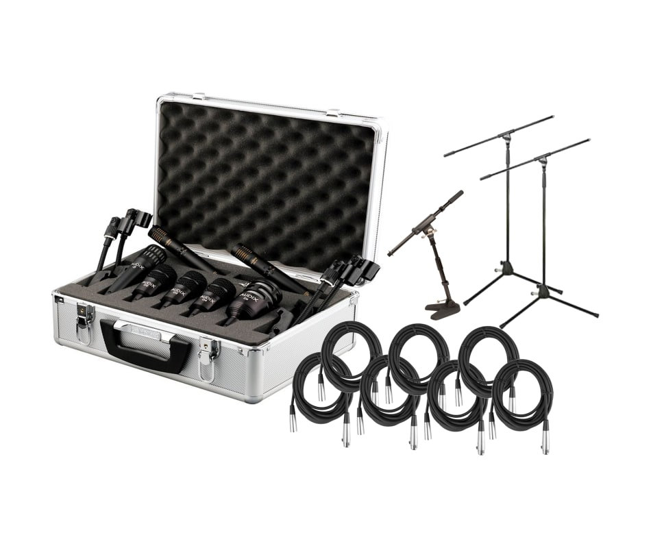 DP7 Professional 7-pc Drum Microphone Bundle