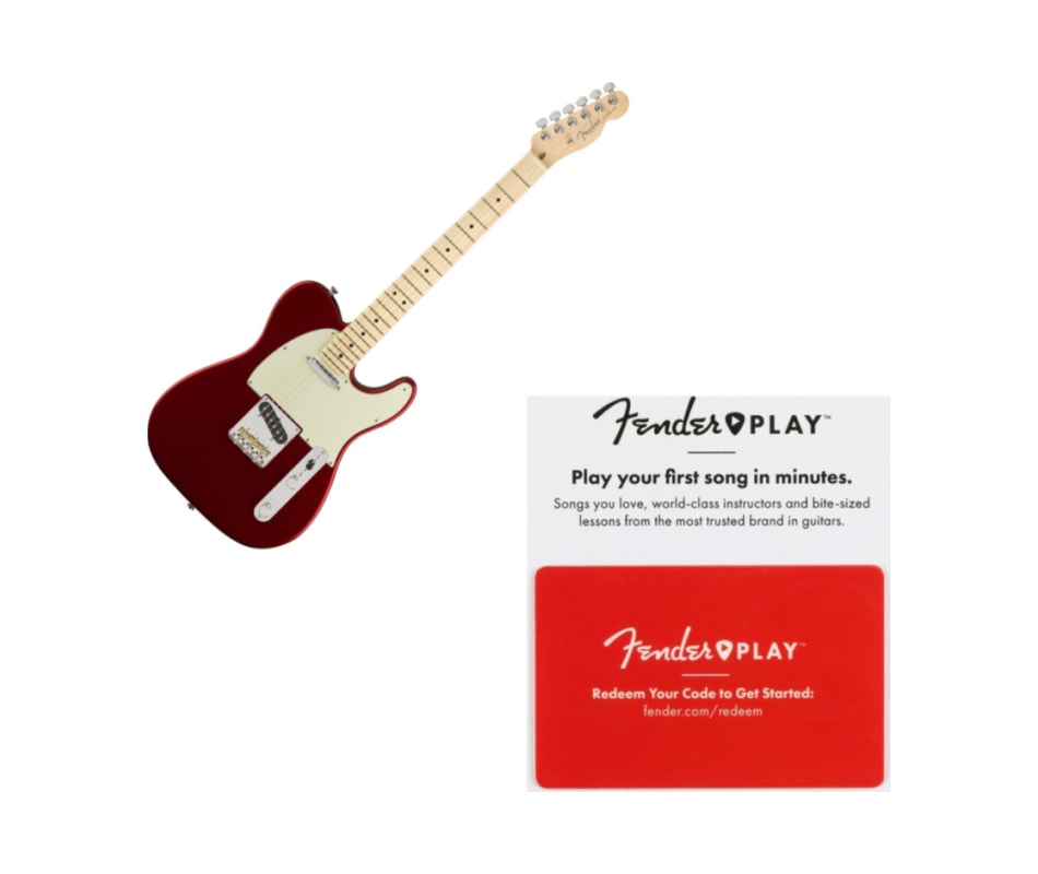 Fender American Professional Tele Maple FB Candy A