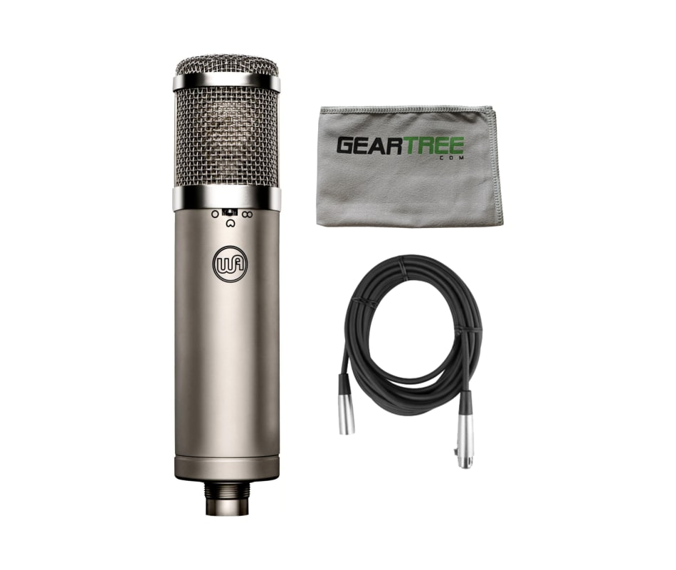 WA-47jr FET Condenser Microphone Bundle
